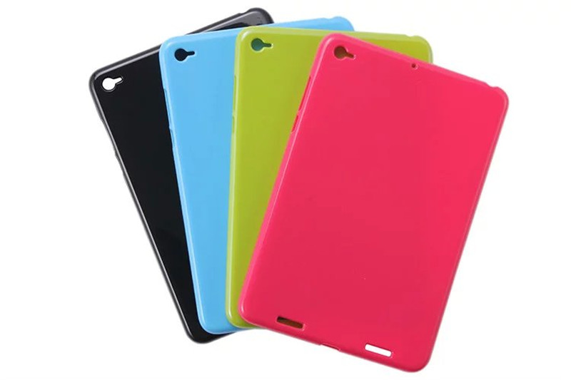 MiPad 2 Tablet Case For XiaoMi MI Pad 2 7.9'' Soft TPU Tablet Cover for xiao mipad 3 four color silicon case