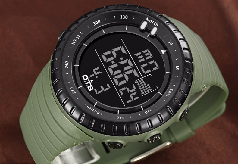 military watch army green watch