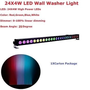 Светодиодная лампа для мытья стен, 24X4W, DMX 512