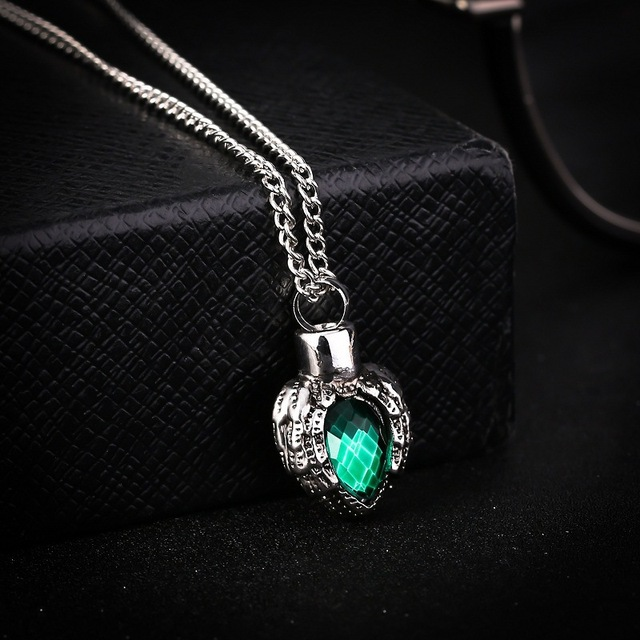 kittenup pet fashion green heart shape alloy cremation