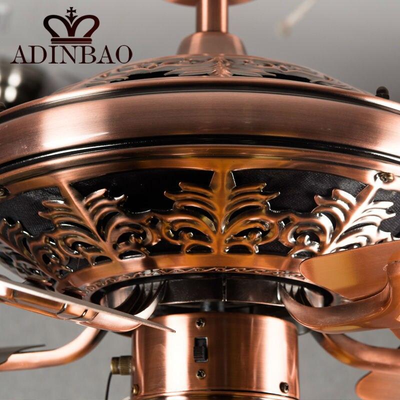Hohe Qualitat Deckenventilator Licht Wih Red Antique Kupfer Farbe Xj041 Ceiling Fans Light High Ceiling Fanhigh Quality Ceiling Fan Aliexpress
