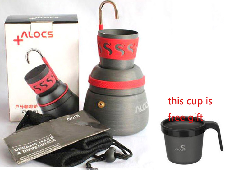 Alocs CW-EM01 Outdoor Portable Foldable Coffee Maker outdoor coffee pot