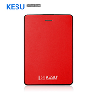 2TB 1TB KESU 2513 2.5 Portable External Hard Drive USB3.0 HDD External Hard Disk HD for Laptop/Mac,PS4,Xbox,TV box,Smart TV