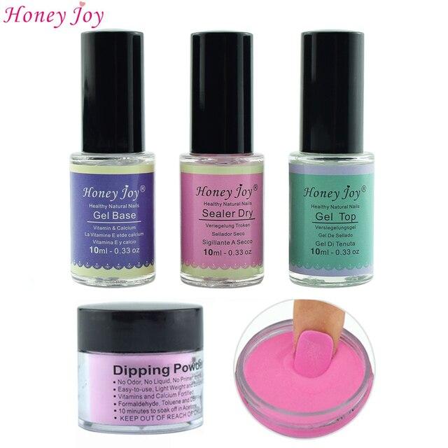 US $5 19 |Aliexpress com : Buy 18g/Box French Pink and White Dipping Powder  No Lamp Cure Nails Dip Powder Clear Pink Gel Nail Powder Natural Dry For