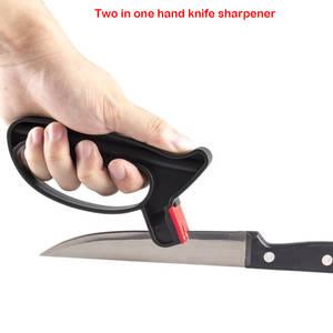 Professional Knife Sharpening-Tool Scissor Grindstone Practical 2-In-1
