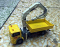 New DieCast Metal Model Yellow Dump Trucks + draw Construction vehicles