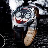 SINOBI Top Brand Unique Clown Wrist Watch Men Watch Fashion Mens Watches Joker Men S Watch