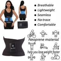 Black Corset Fitness Tummy Trimmer Slimming Waist Trainer Body Shaper Women Tops Fashion Men