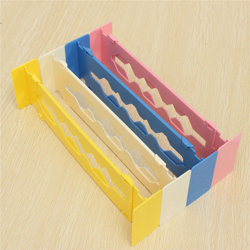 Keuken Lade Organizer : Plastic Drawer Dividers Adjustable