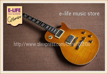 Specially Customed LP Standard Guitar Flat Top Thinner Body Made In China OEM Factory