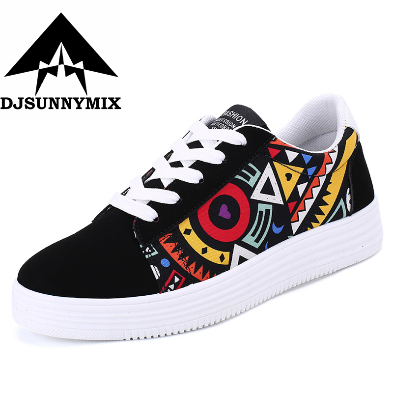 DJSUNNYMIX Canvas breathable men Sneakers Students camouflage running sports Shoes