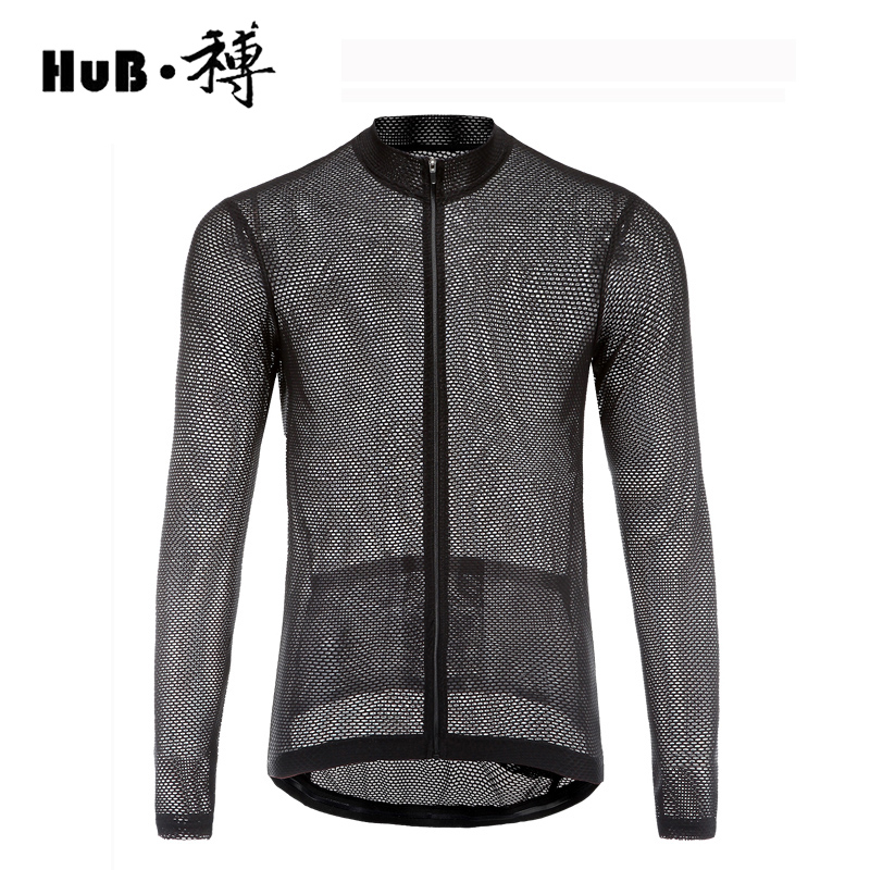 Summer Hollow Long Sleeve Cycling Jersey Men Quick Dry Outdoor Sports Jerseys Anti-sweat Mtb Bicycle T Shirt Cycling Jersey men outdoor long sleeve quick drying shirt