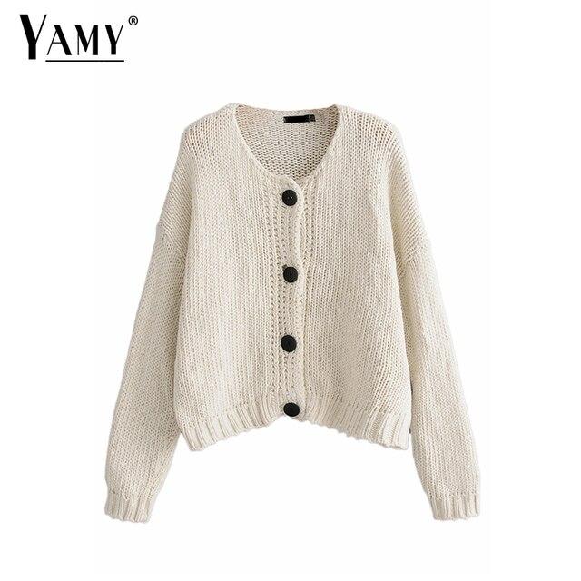 Christmas knitted cardigan women sweater kawaii buttons winter clothes  women Fall black korean oversized sweater winter 81c246734