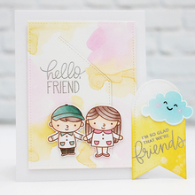 Hello Friends Clear Silicone Stamp DIY Scrapbooking Card Album Making Background Craft Handmade Decoration Template lovely unicorn clear silicone stamp diy scrapbooking card album making background craft handmade decoration template