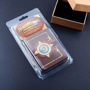 Image 5 - MSMO Kabartmalı Deri Hearthstone Heroes Warcraft Kartı dünyası Cüzdan Paketi Yeni Hediye