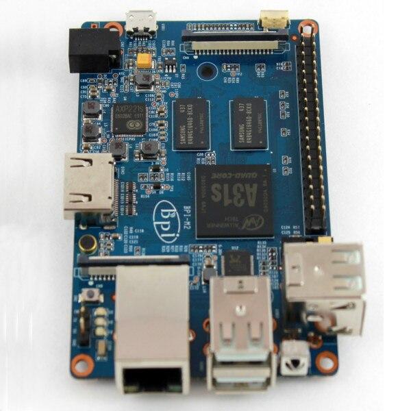2gb of ram octa core bpi m3 banana pi m3 single board computer&development board with emmc wifi bt module on board 1PC New Arrival Original Banana Pi M2 BPI-M2 A31S Quad Core Development Board Module Single Board Computer