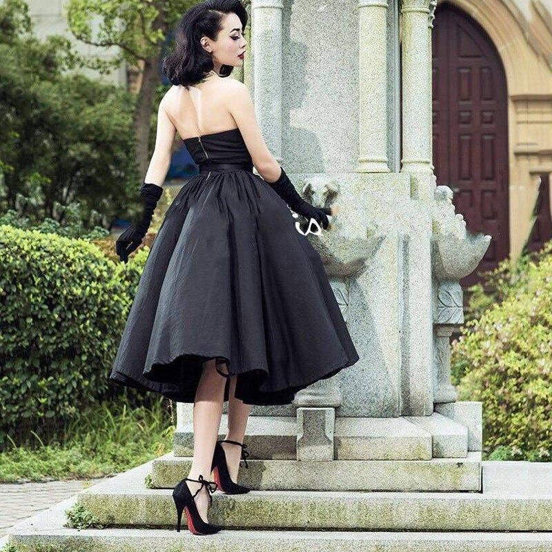 black Evening Dresses Vintage Custom Made Formal Gowns Arabian robe de soiree Black Evening Dress Off Shoulder V neck Fashion in Evening Dresses from Weddings Events