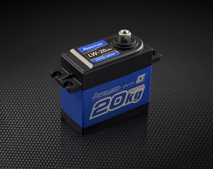 POWER HD LW-20MG Waterproof Digital Servo 20kg/60g for Cars Airplanes power hd lw 20mg 20kg 0 16s waterproof high torque metal gear standard digital servo for 1 8 1 10 scale rc cars