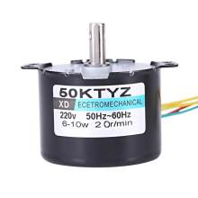 XD-50KTYZ AC 220V Synchronous Motor 10W Permanent Magnet Motors CW/CCW 2.5RPM 20RPM for Choose(China)