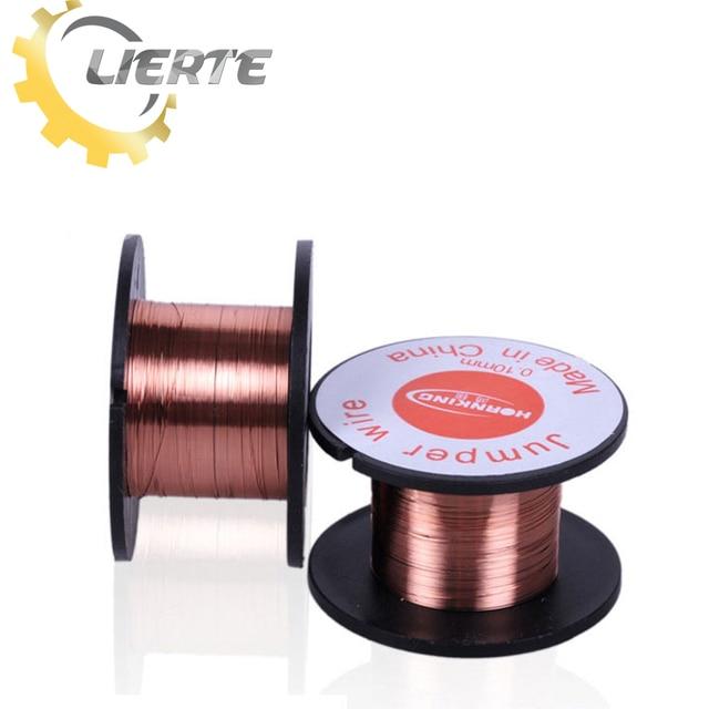 Lierte 5pcs/sets 0.1mm 15m Magnet Enameled Copper Wire Diameter ...