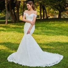 SIJANEWEDDING Vestido De Noiva Mermaid Wedding Party Dress