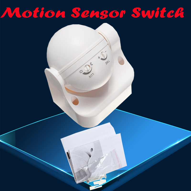 110-240V 50Hz 180 Degree Outdoor Security PIR Infrared Motion Sensor Detector Movement Switch 12 Meter Free Shipping 1pc CM029 new 180 degree security pir infrared motion sensor detector movement switch white automatic convenient durable