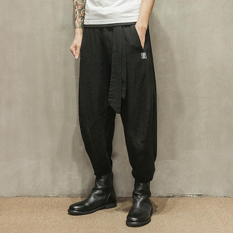 Popular Baggy Linen Pants-Buy Cheap Baggy Linen Pants lots from ...