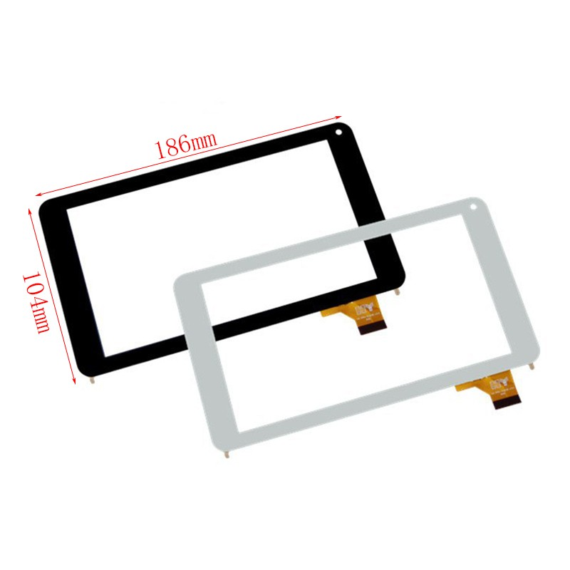 New 7 Inch Capacitive Touch Screen Digitizer Glass Replacement For How Max Quad A0001