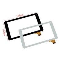 Novo 7 Polegada capacitivo touch screen digitador substituição de vidro para como max quad a0001