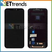 1 шт. 100% Оригинальный ЖК-экран для iPhone XR ЖК-дисплей сенсорный экран с цифровым преобразователем экран сборка DHL Бесплатная доставка