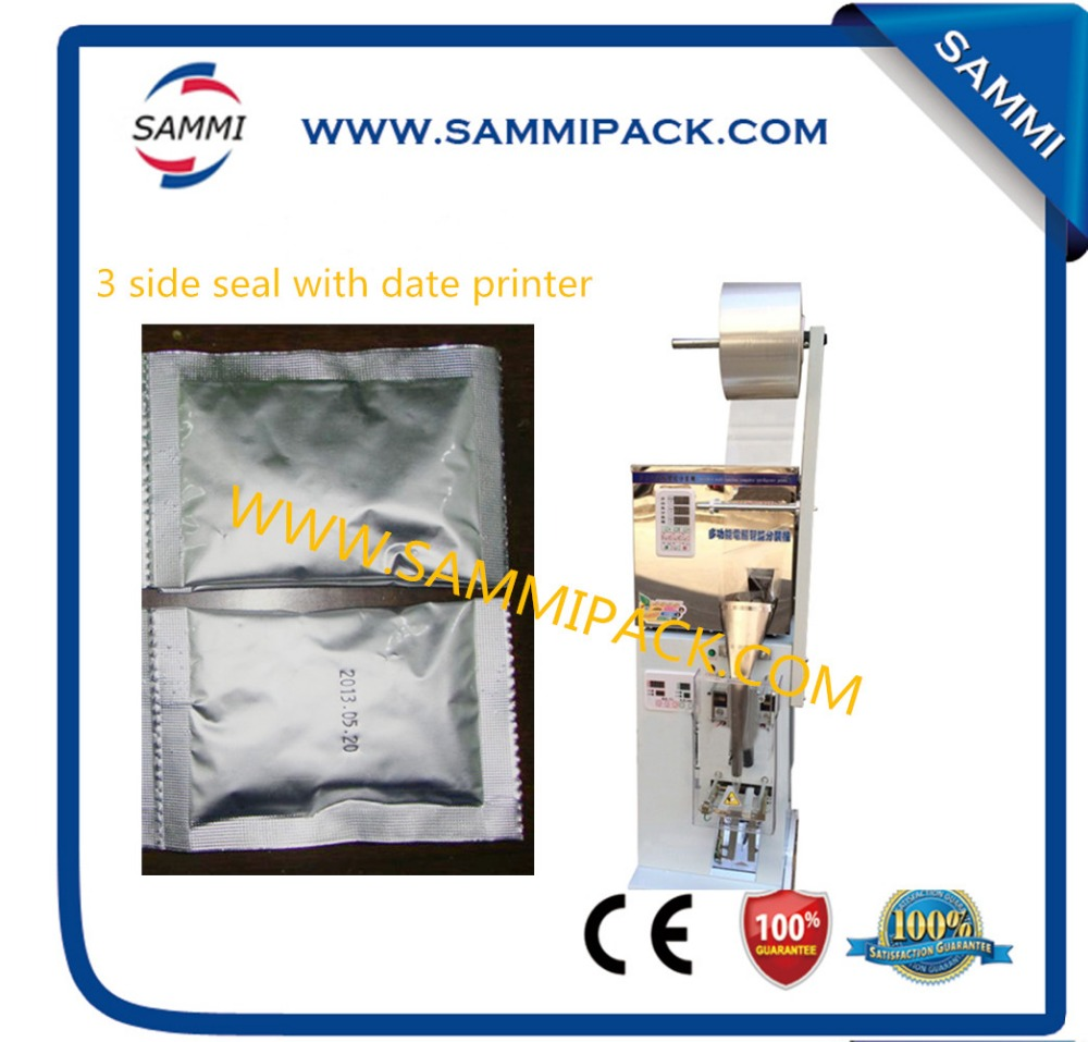 Economic with date coder SMFZ-70D automatic packing 3 side seal machine with warranty and after-sales service for granule, power
