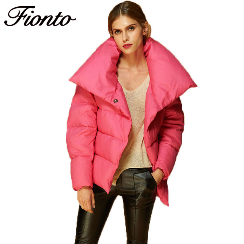 Femmes Down Jacket Manteau pink Casual Coat Coupe Élégant Mode Veste Nouvelle Canard F588 Lady Blanc Parka White De D'hiver 80 vent Épais Outwear Duvet 2017 qxB4w56F