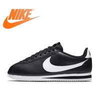 Original Official Nike Classic Cortez Waterproof Women's Running Shoes Sports Sneakers Comfortable Outdoor Athletic Classic