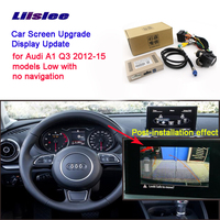 Car Screen Upgrade Display Update Rear Backup Camera Interface Kit For Audi A1 Q3 2012~2015 RMC NavPlus MMI system