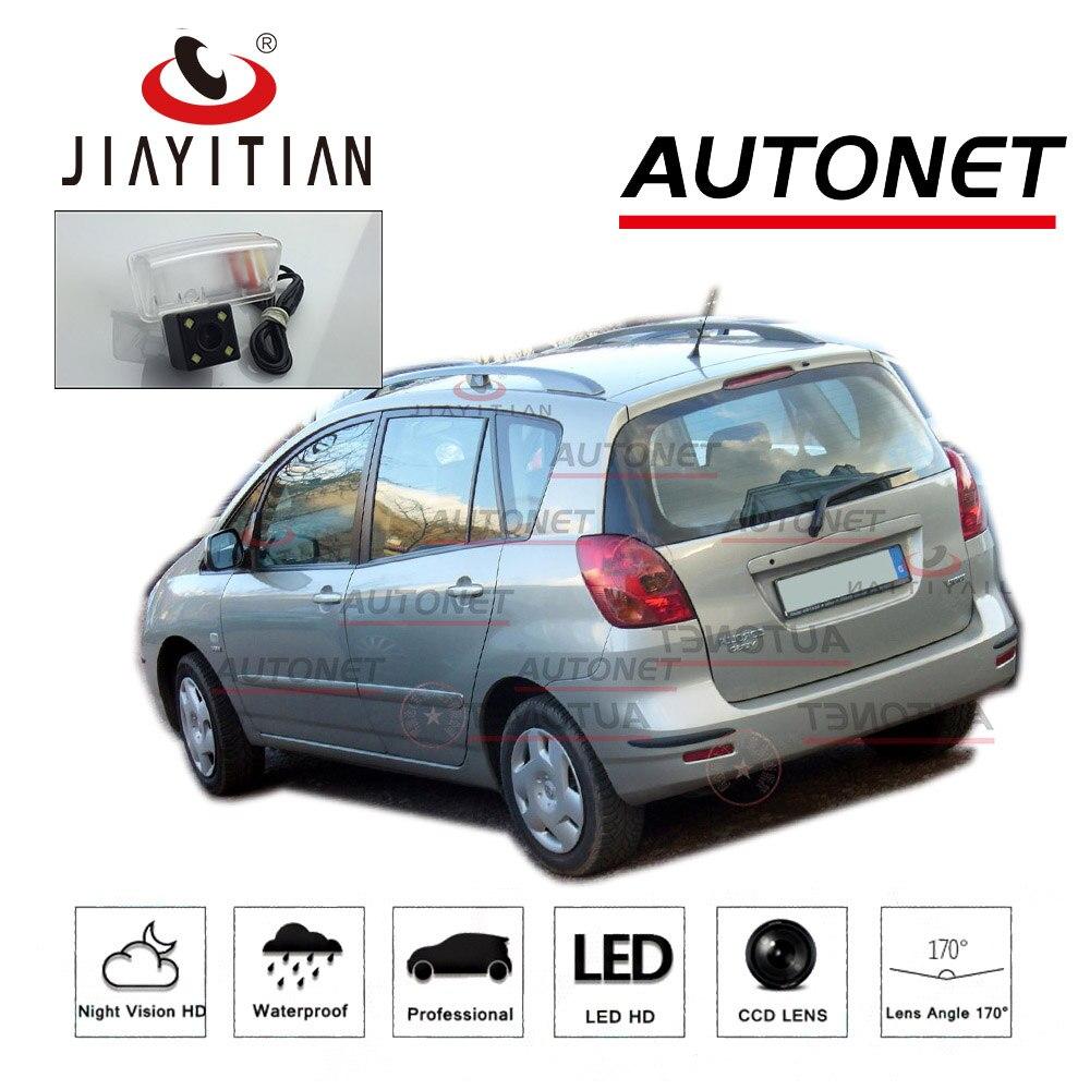 JiaYiTian rear camera For Toyota Corolla Verso Corolla Spacio 2001~2007 E121 CCD Night Vision Backup camera license plate camera toyota corolla spacio 2wd