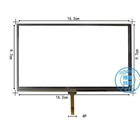 New 7 Tablet Gps Touch Screen 162*97mm Handwritten Screen Touch Screen Bd529b At 529 D1 Replacement Free Shipping