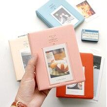64 карманами белая пленка для Fuji Instax Мини Плёнки Instax Mini 9 камеры одноступенного процесса 8 7s 70 25 50s 90 визитная карточка моменты Фотобумага книга альбом подарок