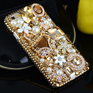 Image 4 - Luxury 3D Gold Purse Carriage Bling Crystal Cases for Samsung Galaxy S10E S9 S10 S20 Plus FE Fan Edition Note 10 Lite 20 Ultra 9