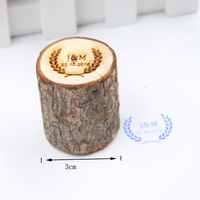 Personalized Wedding Rustic Stamp Custom Wood Rubber Stamp Wedding Invitation Customize Stamp With Your Initials Date