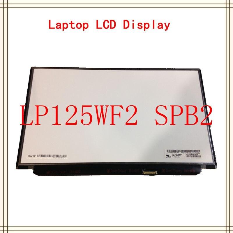 12 ''écran lcd d'ordinateur portable LP125WF2 (SP) (B2) LP125WF2-SPB2 1920*1080 pour Lenovo Thinkpad X240 X250 X260 X270 X280 FHD IPS