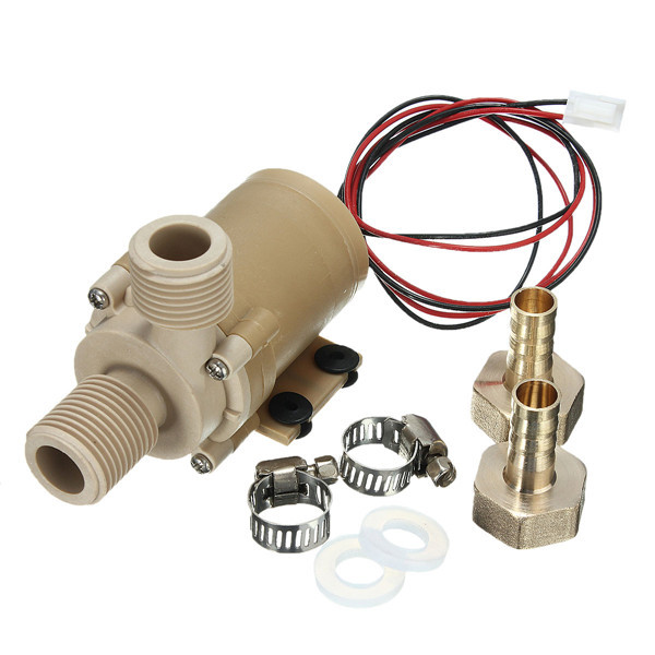 Best Price High Temperature Resistance DC 12V Solar Hot Cooling Water Circulation Pump Brushless Motor Water Pump