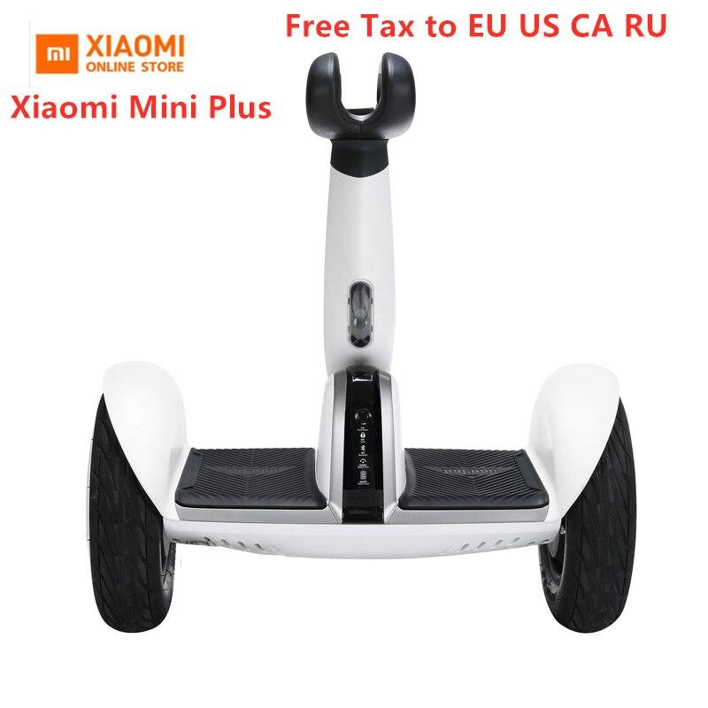 Оригинальный Xiaomi Mini Plus самобалансирующийся скутер 2 колесный умный электрический скутер Ховерборд скейтборд с приложением LED Ховерборд