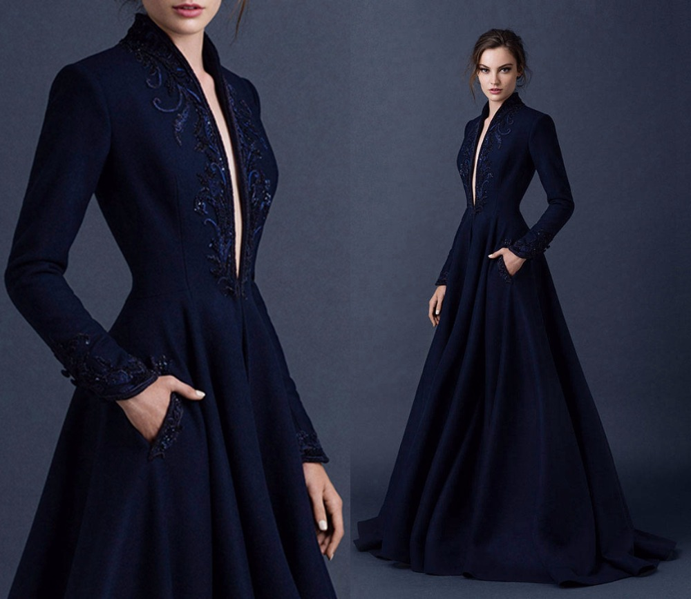 Online Buy Wholesale navy blue wedding dress from China navy blue ...