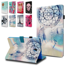 Flip Leather Case For Samsung Galaxy Tab A 10.5 T590 T595 case Skull Cover for Samsung Galaxy Tab A 10.5 2018 SM-T590 case Cover цена и фото