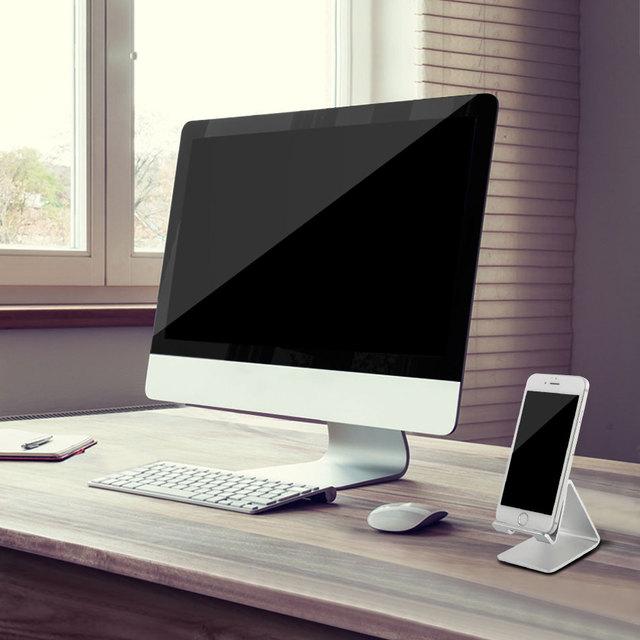 Metallic Phone Desk Stand