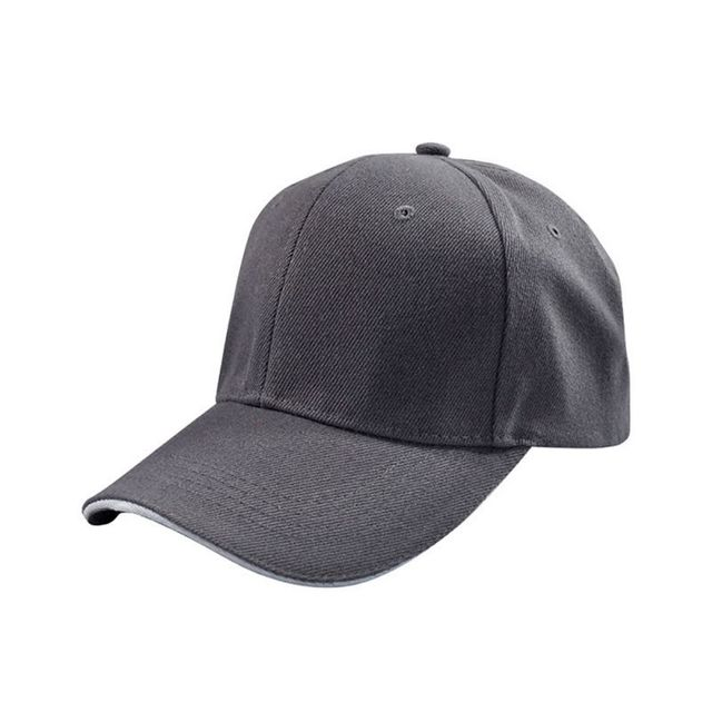 Fashion Cap Women Men Summer Spring Cotton Caps Women Solid Adult Baseball Cap Black White Hat Snapback Women Cap P1 TT