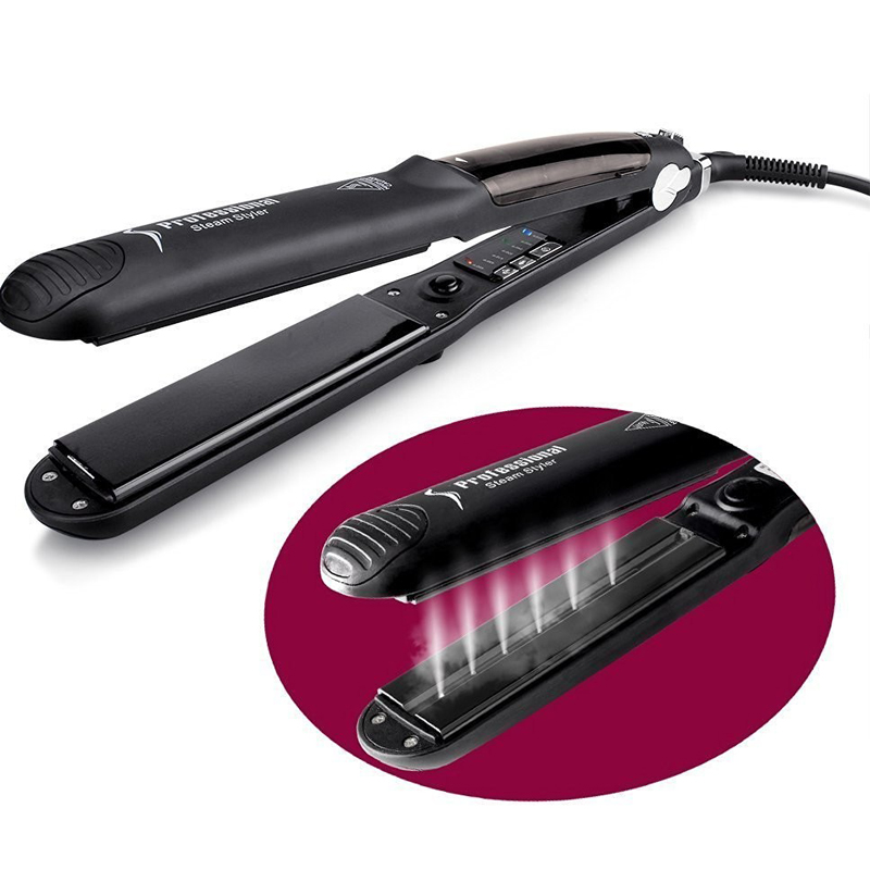 Ceramic Steam Hair Straightener 7