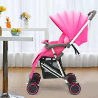 Свет benken детская коляска шок четыре колеса складной двусторонний бб автомобиль зонтик портативный