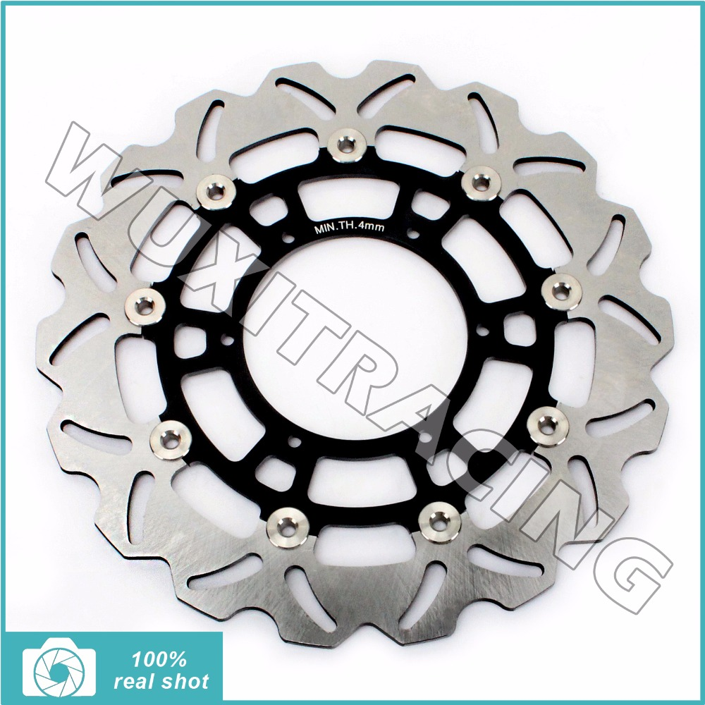 New Front Brake Disc Rotor for BMW F 650 700 800 CS GS ST ABS DARKAR ADVENTURE 94-16 95 96 97 98 99 01 G 650 GS SERTAO X 09-16 94 95 96 97 98 99 00 01 02 03 04 05 06 new 300mm front 280mm rear brake discs disks rotor fit for kawasaki gtr 1000 zg1000