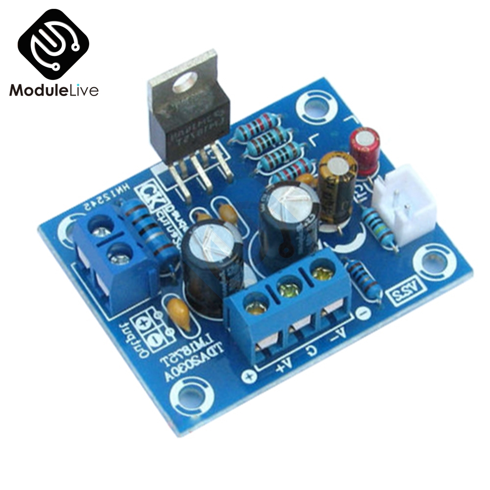 20W HIFI Mono Channel 1CH <font><b>LM1875T</b></font> <font><b>Stereo</b></font> <font><b>Audio</b></font> <font><b>Amplifier</b></font> Board Module <font><b>DIY</b></font> <font><b>Kit</b></font> image